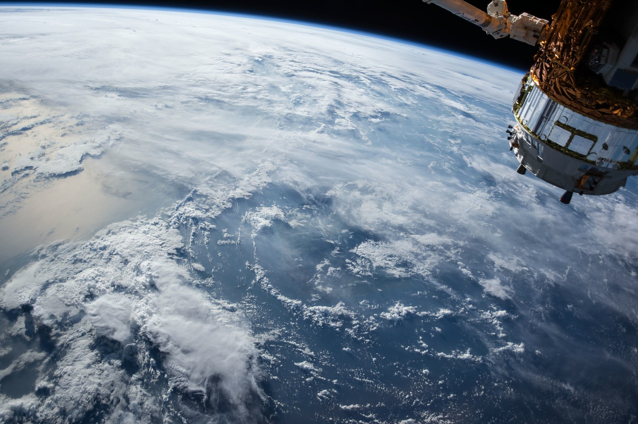 #INYOURSPACE WITH INVENTOR OF THE ISS ABOVE