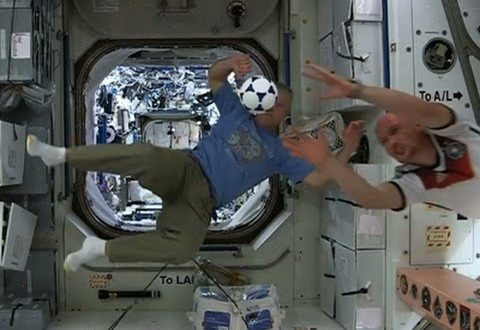 7 SPORTS ASTRONAUTS LOVE WITHOUT GRAVITY (SO FAR, ANYWAY!)