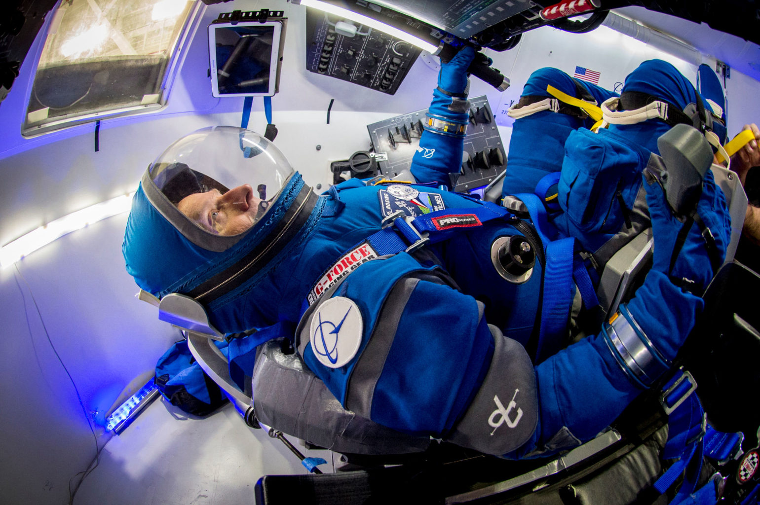 BOEING'S NEW STARLINER SPACESUITS