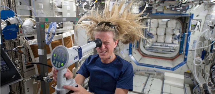 UNDER PRESSURE: WHY SPACEFLIGHT IS SO HARD ON ASTRONAUTS' EYES