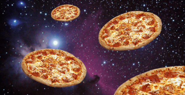 HAPPY #PIDAY! DO YOU KNOW THE HISTORY OF PIZZA IN SPACE?