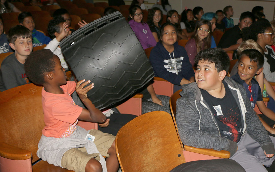 Sports in Space: Palms Middle School adds 'athletics' to the STEAM experience